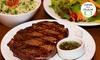 LaaP Costumbres - Laap Costumbres: LaaP Costumbres Argentinas – Águas Claras: 3 empanadas + bife ancho com até 2 acompanhamentos
