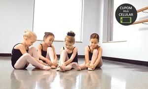 Dance ImPar: Dance ImPar – Trindade: 1, 2 ou 3 meses de balé infantil com matrícula inclusa