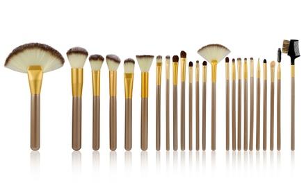 24Piece MakeUp Brush Set