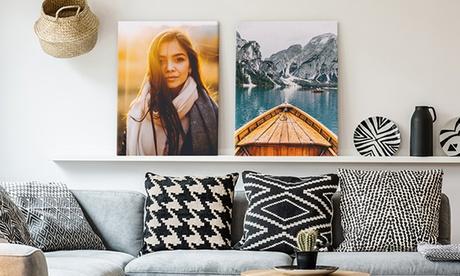 Fotolienzo con imagen personalizable a elegir entre varios tamaños con Photo Gift (hasta 86% de descuento)
