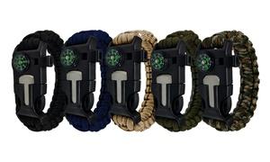 Lot de bracelets Survie
