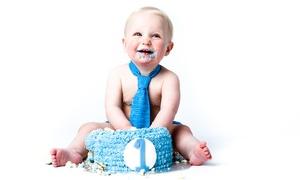 Moda Studios: One-Hour Baby Cake Smash Photoshoot at Moda Studios