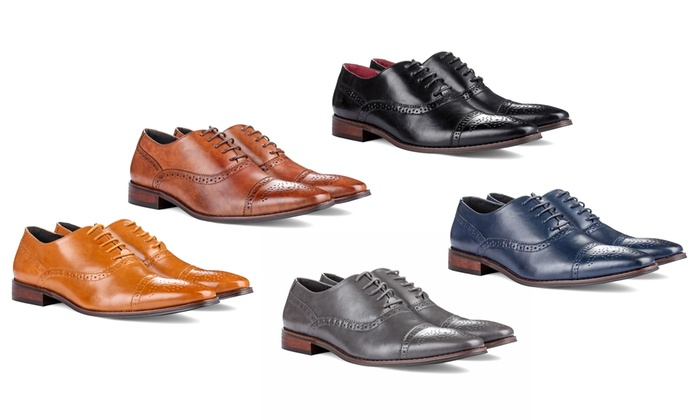 Up To 81% Off on Signature Men s Oxford Shoes  8081826442e