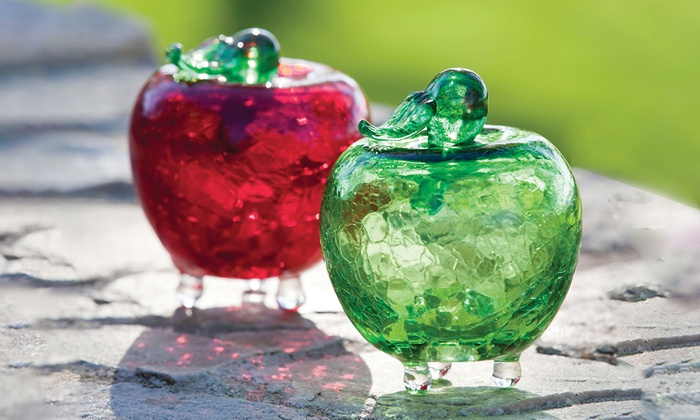 Glass Apple Fruit-Fly Traps (2-Pack)