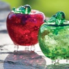 Apple-Shaped Fruit Fly Traps (2-Piece)