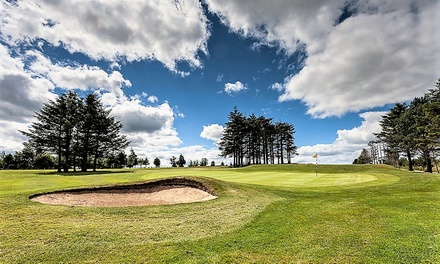 18 Holes of Golf with 40 Practice Balls for Up to Four at Oldmeldrum Golf Club