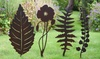 Rustic-Style Freestanding Decorative Plant Support