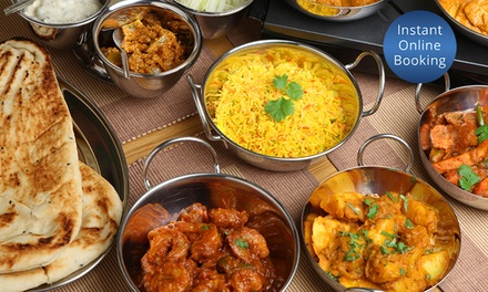 Indian Banquet for Two $39 or Four People $75 at Moonlight Indian Cuisine Up to $136 Value