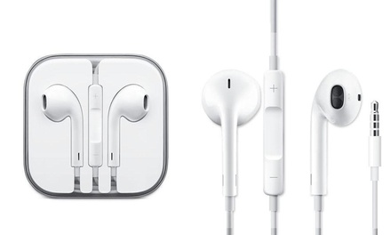 Original Apple® Earpods with 3.5mm Plug: One Pair $24 or Two Pairs $45 Don't Pay up to $90