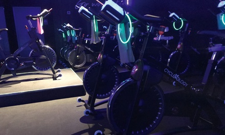 Five, Ten, or Twenty Indoor Cycling Classes at Cyclelogy Studio (Up to 64% Off)