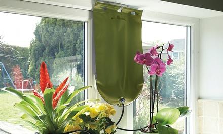 Sistema de riego por goteo para plantas