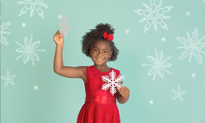 Target Portrait Studio - Multiple Locations: Holiday Photo Shoot Package with Optional Digital Image at Target Portrait Studio (Up to 89% Off)