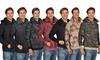 ARSNL Men's Pullover Hoodie Sweater: ARSNL Men's Pullover Hoodie Sweater with Built-in Scarf