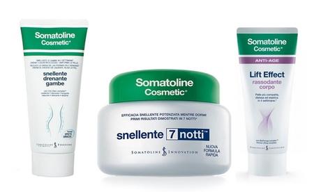 1 o 2 creme o gel per il corpo Somatoline Cosmetic da 200 o 250 ml disponibili in 3 tipologie