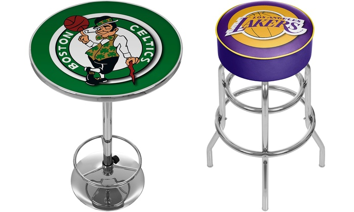 Pleasing Up To 62 Off On Trademark Nba Stools And Tables Groupon Goods Short Links Chair Design For Home Short Linksinfo
