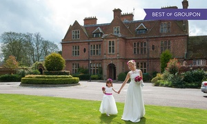 Horwood Estate: Wedding Package for 50 Day and 80 Evening Guests with Accommodation at De Vere Horwood Estate (Up to 57% Off)