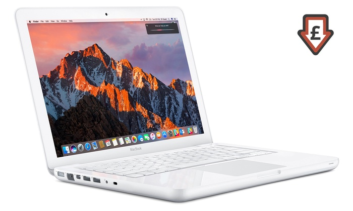 Refurbished Apple MacBook A1342 13.3'' 2-8GB RAM, 250GB, 1TB or 250GB SSD MAC OS Sierra With Free Delivery From £269