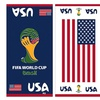 2014 FIFA World Cup USA Beach Towel