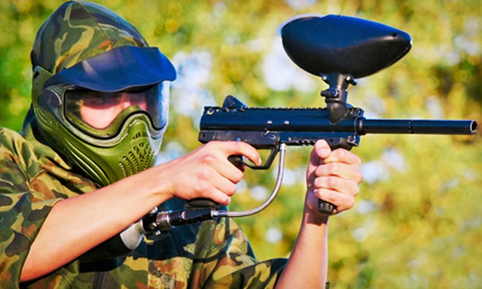 Richmond Hunting Club - Richmond Hunting Club: Paintball Package with Equipment Rental and Paintballs for Two, Four, or Eight at RHC Paintball Fields (51% Off)