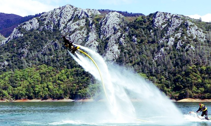 Indy Flight Academy & Watersports - Multiple Locations: 30-Minute Per Person Water-Powered Jetbike Session for 2 or 4 from Indy Flight Academy & Watersports (Up to 53% Off)