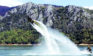 Indy Flight Academy & Watersports: 30-Minute Per Person Water-Powered Jetbike Session for 2 or 4 from Indy Flight Academy & Watersports (Up to 53% Off)