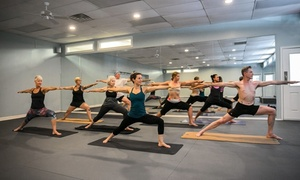 Hot Yoga Asheville: 5 or 10 Hot Yoga Classes or One Month of Unlimited Classes at Hot Yoga Asheville (Up to 76% Off)
