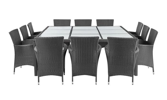 jusqu 39 14 salle manger d 39 ext rieur groupon. Black Bedroom Furniture Sets. Home Design Ideas