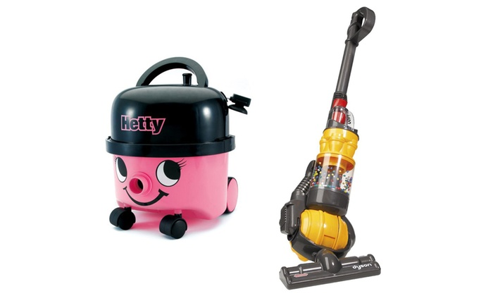 Groupon Goods Global GmbH Casdon Hetty Or Dyson Ball Toy Vacuum Cleaner For GBP1799