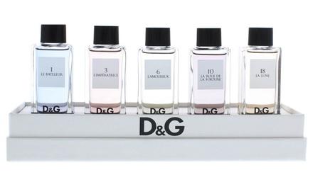 Coffret de 5 parfums Dolce & Gabbana