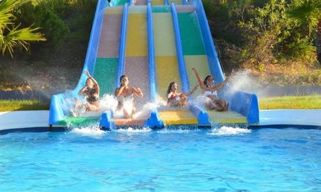 Entrada de un día al parque acuático Aquopolis Cartaya para niño o adulto desde 12,90 €