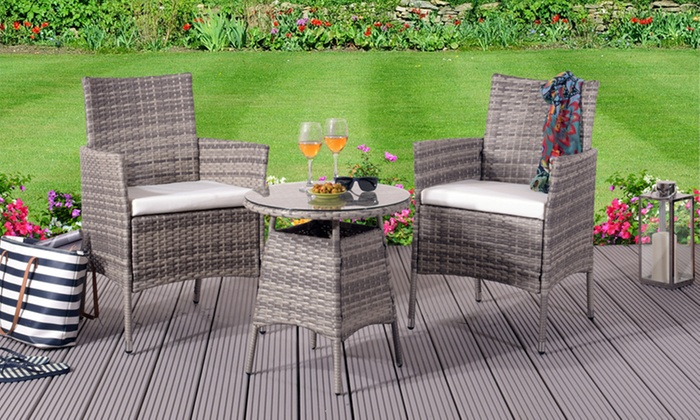 Magnificent Up To 76 Off Marrakech Outdoor Furniture Set Groupon Home Remodeling Inspirations Genioncuboardxyz