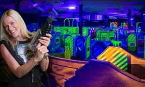 Laserzone Essen: 4 Lasertag-Spiele à 12 Min. inkl. Elite Club Card und Ausrüstung für 1, 2, 4 oder 6 in der Laserzone Essen (24% sparen*)
