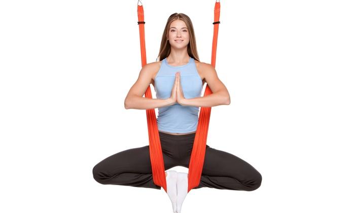 Aerial Yoga Boerne - Boerne: Four Weeks of Aerial Yoga Classes at Aerial Yoga Boerne (57% Off)
