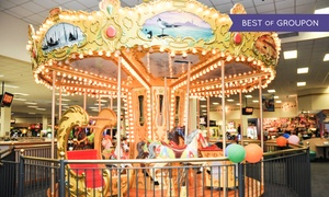 Chuck E. Cheese's: One Hour of Unlimited Play at Chuck E. Cheese's (Up to 74% Off)