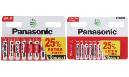 Pilas de zinc Panasonic
