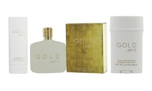 Jay Z Gold Eau de Toilette, Deodorant, or Aftershave Balm for Men