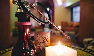Khan El Khalili: Cena orientale con vino, narghilè, tè arabo e danza del ventre per 2 o 4 persone da Khan El Khalili (sconto fino a 78%)