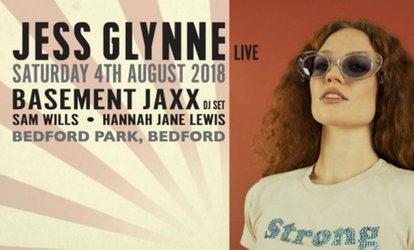 Jess Glynne and Basement Jaxx, Saturday 4 August at Bedford Park (Up to 8% Off)