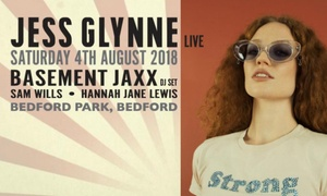 LPH Concerts Ltd: Jess Glynne and Basement Jaxx, Saturday 4 August at Bedford Park (Up to 8% Off)