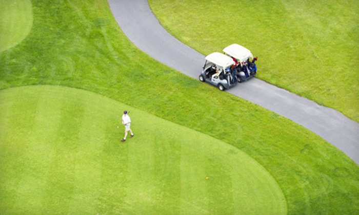 Oak Harbor Golf Club - Salem: 18-Hole Round of Golf for Two or Four Including Cart and Range Balls at Oak Harbor Golf Club (Up to Half Off)