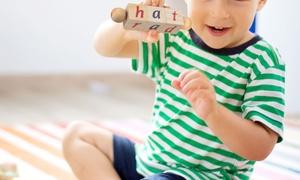 Hey! Play! Wood Alphabet Reading Twist Blocks
