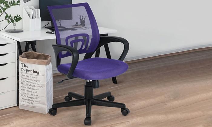 Sedia per scrivania groupon goods