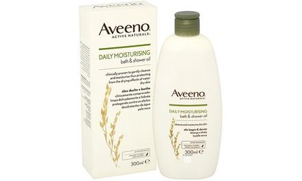 2x oder 3x Aveeno Bad- und Duschöl 300 ml