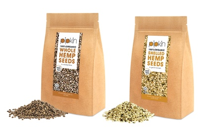 Pipkin Organic Hemp Seeds