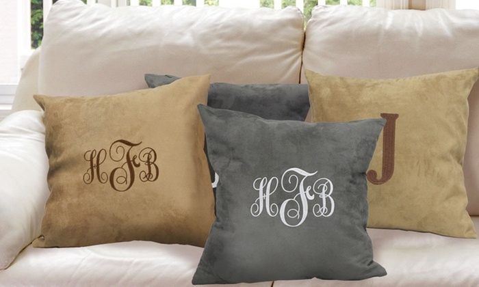 GiftsForYouNow.com: One, Two, Three, or Four Custom Suede Pillows from GiftsForYouNow.com (Up to 67% Off)