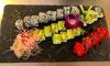 "Sushi-Menü ""Tempura on the Beach"""
