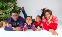 """Group or Family Photoshoot with Five 5"""" x 7"""" Prints at Deluxe Studios"""