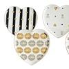 Betsey Johnson Hi-Shine Dessert Plate Set (4-Piece)