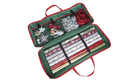 Christmas Gift Wrap Storage Bag