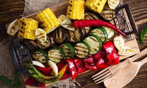 Sirio: Menu vegetariano con porcini e vino selezionato dal sommelier da Sirio Rosta (sconto fino 51%)